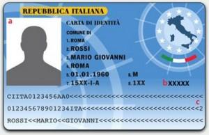 CIE Nuova carta d'identità
