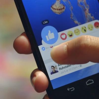 facebook-reazioni esempio e test